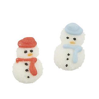Culpitt Sugar Pipings Snowmen Cake Toppers 12 Pack alt image 2