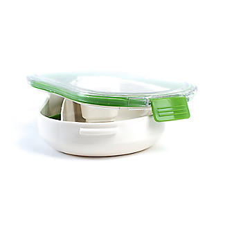 Leak-Proof Lunch Box with Compartments Small 650ml alt image 2