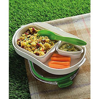 Leak-Proof Lunch Box with Compartments Large 900ml alt image 2