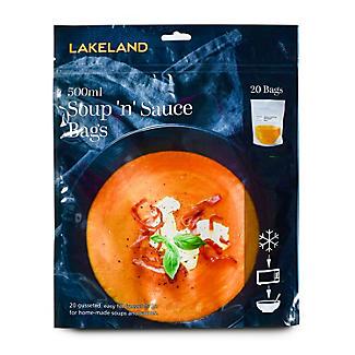 Gefrierbeutel für Suppen und Saucen 500 ml., 20 Stück alt image 2