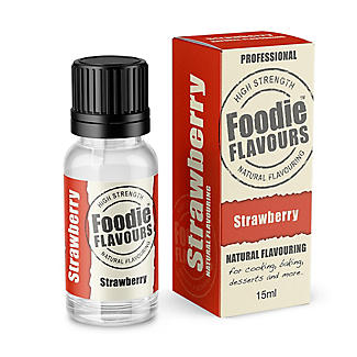 Foodie Flavours Natural Flavouring - Strawberry 15ml alt image 1