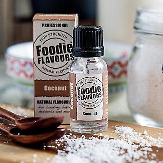 Foodie Flavours Natural Flavouring - Coconut 15ml alt image 2