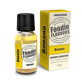 Foodie Flavours Natural Flavouring - Banana 15ml