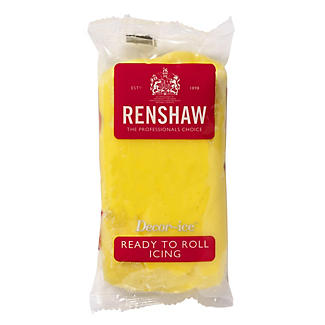 Renshaw Ready-to-Roll Yellow Icing