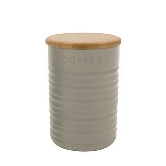 Typhoon® Ripple Coffee Canister – Stone