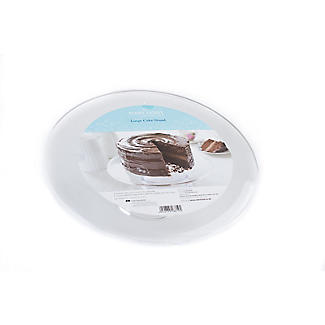 Mary Berry Clear Acrylic Stackable Cake Display Stand - 33cm alt image 3