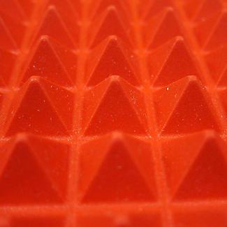 Pyramiden Backmatte aus Silikon für Braten mit Fettauffänger alt image 5
