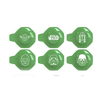6 Star Wars™ Coffee and Cake Dusting Stencils