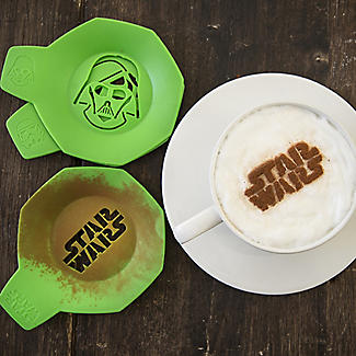 6 Star Wars™ Coffee and Cake Dusting Stencils alt image 2