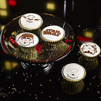 6 Star Wars™ Coffee and Cake Dusting Stencils alt image 3
