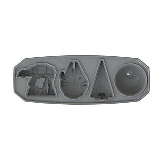 Star Wars™ Ships Ice Cube and Jelly Mould