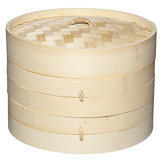 2 Tier Bamboo Steamer