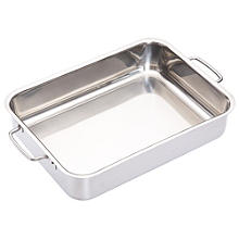 Medium Stainless Steel Roasting Pan