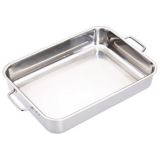 Large Stainless Steel Roasting Pan