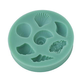 Seashell Silicone Icing Mould alt image 2