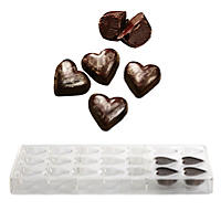 21 Hearts Chocolatier Artisan Chocolate Mould