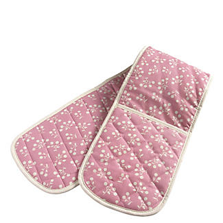 Mary Berry Doppel-Ofenhandschuh, pink