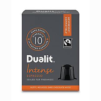 10 Dualit NX Kaffeekapseln - Stärke 10 Intense Espresso