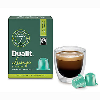 Dualit® NX® 10 Coffee Pods - Strength 7 - Lungo Americano Capsules alt image 3