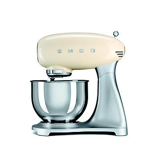 Smeg Classic Retro 4.8L Stand Mixer - Cream SMF01CR