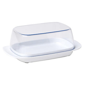 Rosti Melamine Butter Dish & Clear Lid