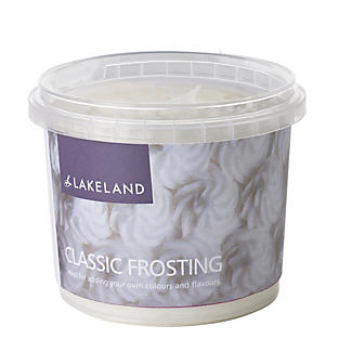 Lakeland Ready Made Cake Frosting - 350g Classic White