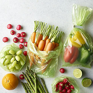 20 Lakeland Stayfresh Longer Vegetable Storage Bags 28 x 46cm alt image 2