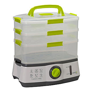 Steama 3 Tier Electric Food Steamer alt image 2