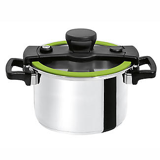CookQuick Pot Pressure Cooker & Steamer Pan 4L