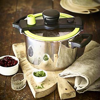 CookQuick Pot Pressure Cooker & Steamer Pan 4L alt image 2
