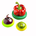 4 Silicone Food Fruit & Vegetable Huggers