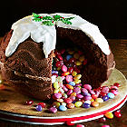 Piñata Ball Shaped Cake Tin With Secret Filling
