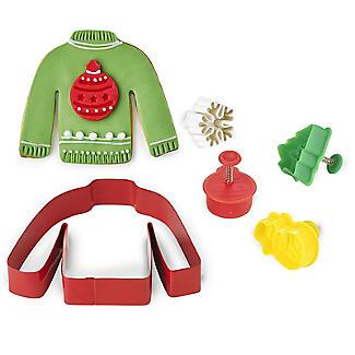 Christmas Jumper Cookie Cutter Set