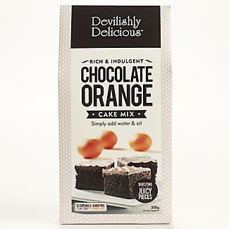 Devilishly Delicious Chocolate Orange Cake Mix | Lakeland