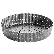 Perfobake Loose Based 18cm Perforated Quiche Tin