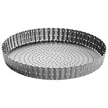 Perfobake Loose Based 25cm Perforated Quiche Tin