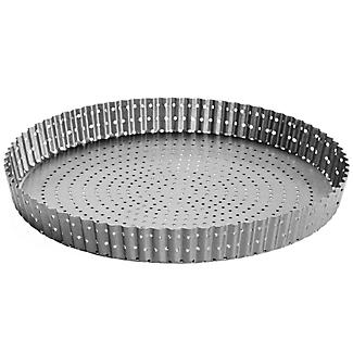 Perfobake Loose Based 30cm Perforated Quiche Tin