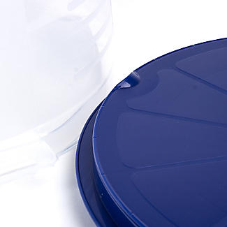 Cake Carrier Caddy & Clear Lid - Round Holds 27cm Cakes alt image 5
