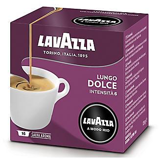 Lavazza A Modo Mio Lungo Dolce Coffee Capsules - Pack of 16