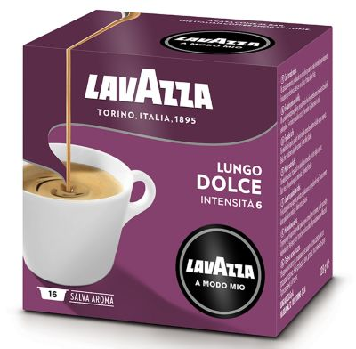 Lavazza A Modo Mio Coffee Capsules  16 Lungo Dolce  Medium (6)