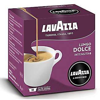 Lavazza A Modo Mio Lungo Dolce Coffee Capsules - Pack of 16 alt image 3