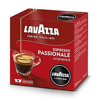 Lavazza A Modo Mio Espresso Passionale Coffee Capsules  - Pack of 16