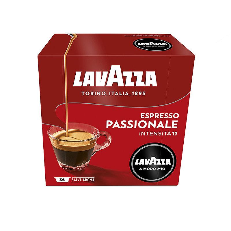 Lavazza Coffee Capsules Espresso Passionale Strong X16