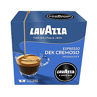 Lavazza A Modo Mio Espresso Dek Cremoso Coffee Capsules - Pack of 16 alt image 2