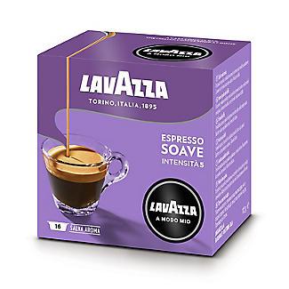 Lavazza A Modo Mio Espresso Soave Coffee Capsules - Pack of 16