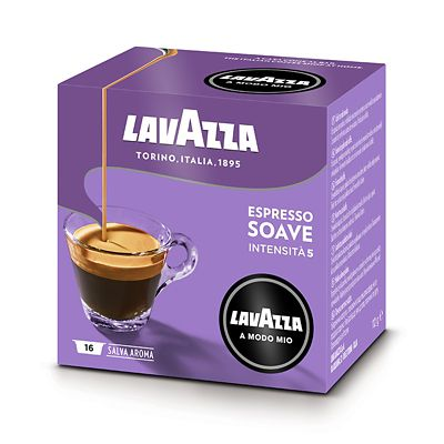 Lavazza A Modo Mio Coffee Capsules  16 Espresso Soave  Mild (5)