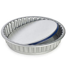 Lakeland PushPan Loose Based 20cm Fluted Flan Tin