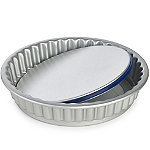 Lakeland PushPan Loose Based 25cm Fluted Flan Tin