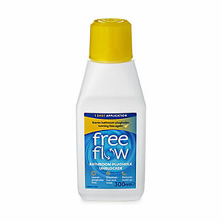 Free Flow Bathroom Plughole Unblocker 300ml