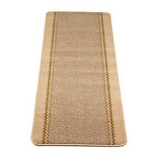 Hard Wearing Non Slip Indoor Floor Runner Mat Natural - 180 x 67cm